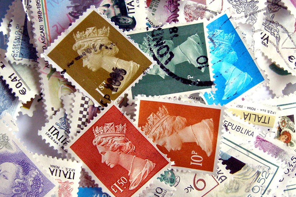 Donate used stamps