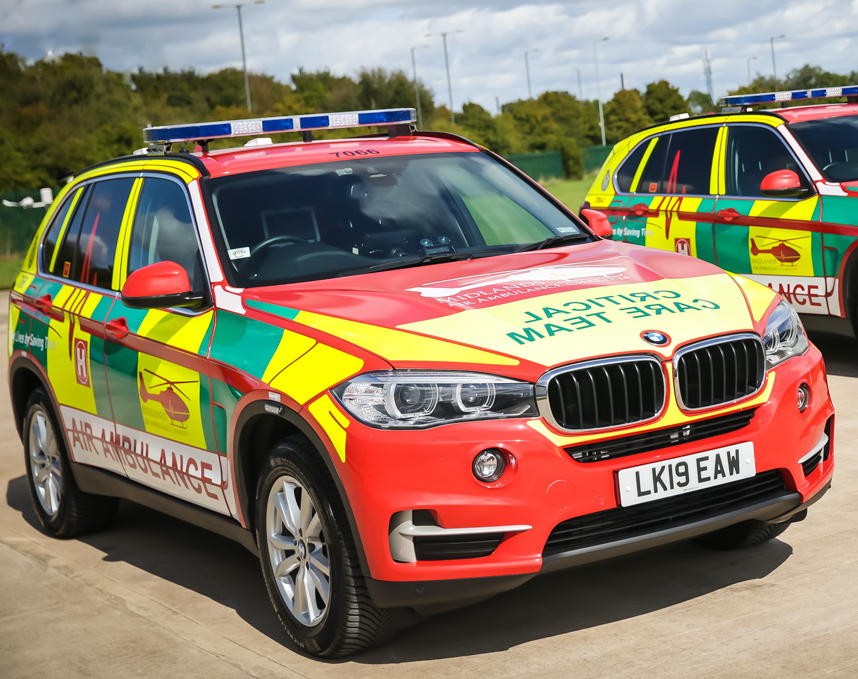 Critical Care Car - Worcester
