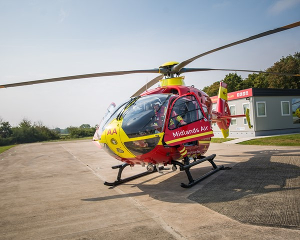 Motorcyclist Seriously Injured in Shropshire