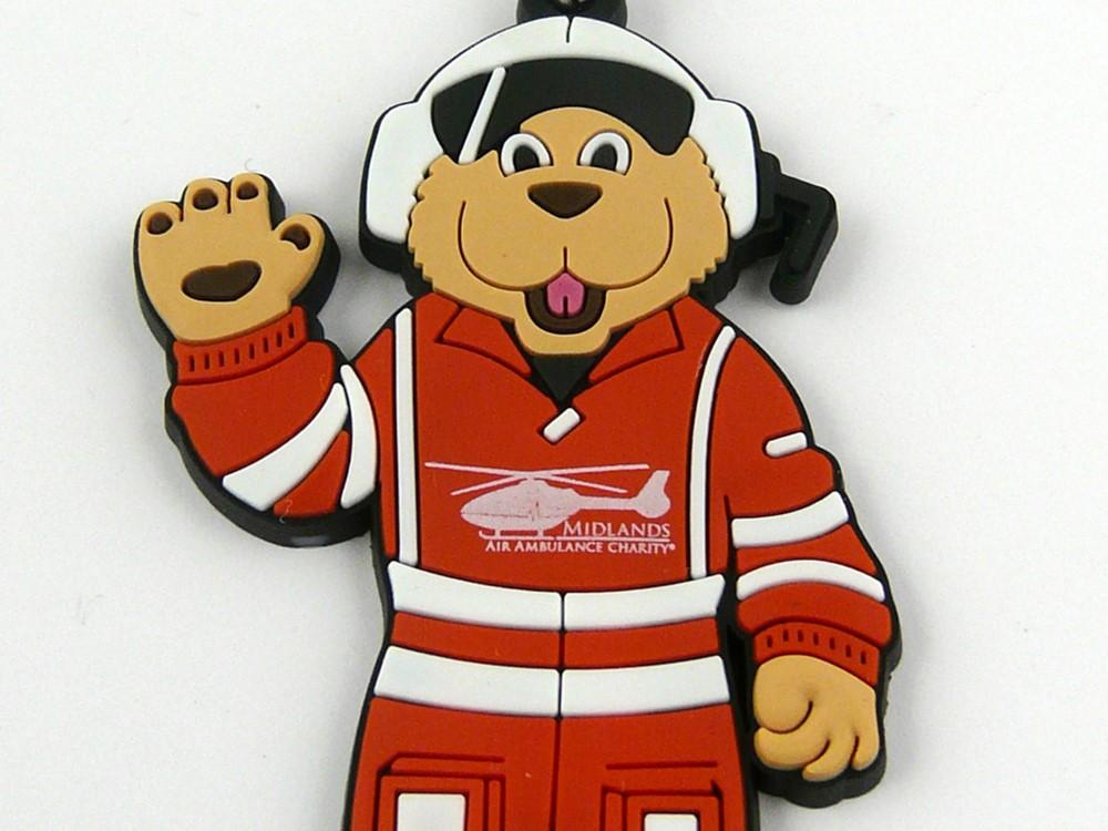 Mascot Keyring