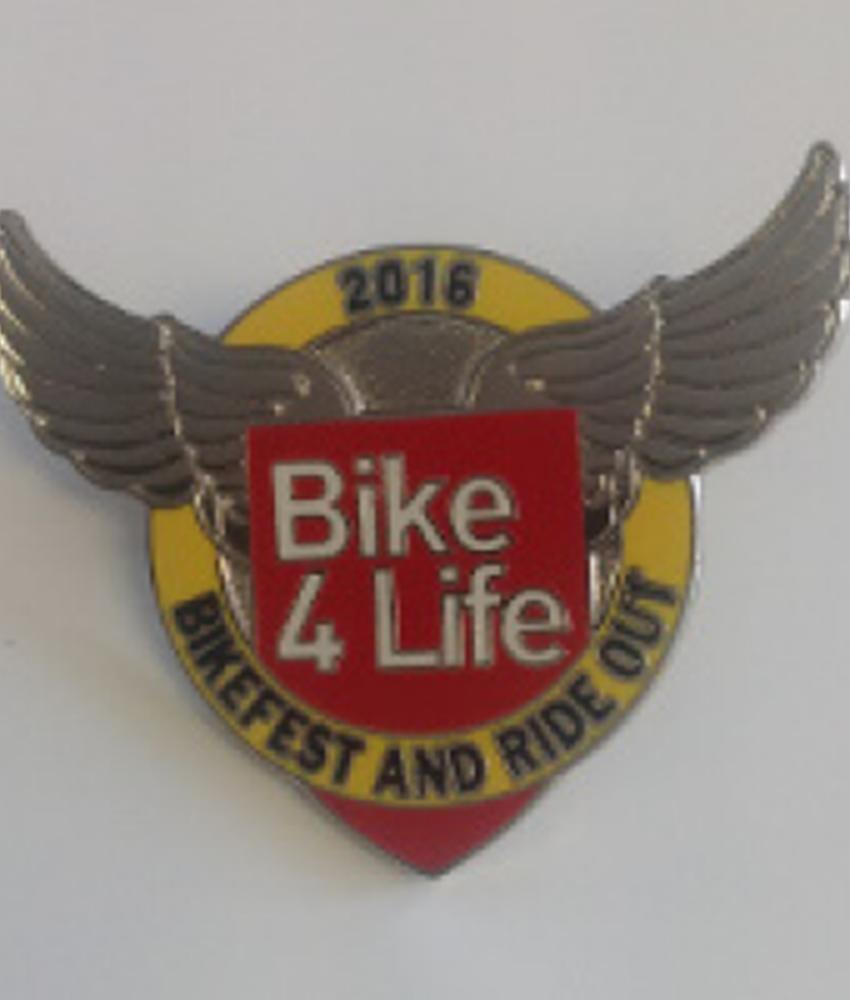 Bike4Life 2016 Badge