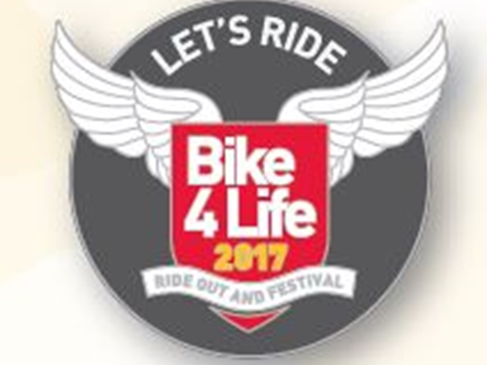 Bike4Life 2017 Badge