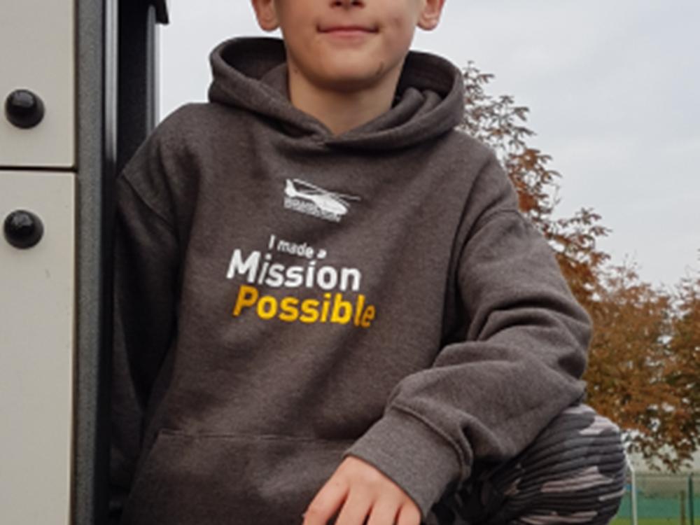 Kids Mission Possible Hoodie