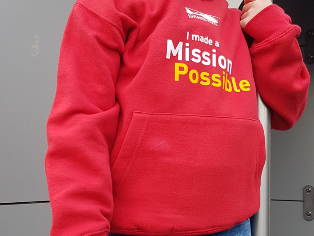 Kids Mission Possible Hoodie