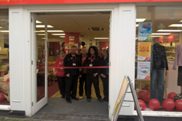 Wellington Charity Shop Given New Look