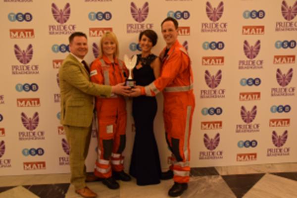 Lifesaving Crew Receive Pride of Birmingham Award