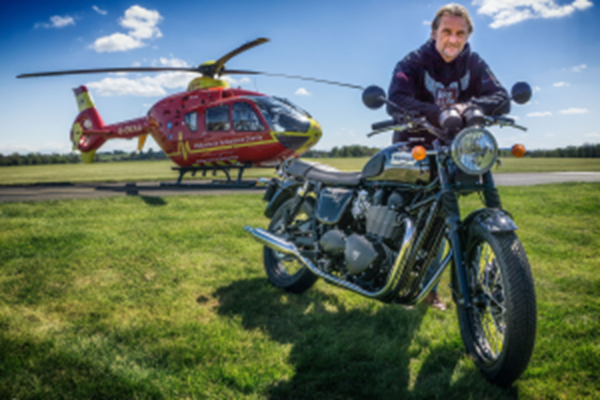 Racing Legend and TV Star To Lead Bike4Life Ride Out