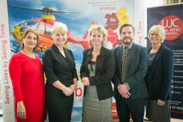 Sky-high Networking With Midlands Air Ambulance Charity