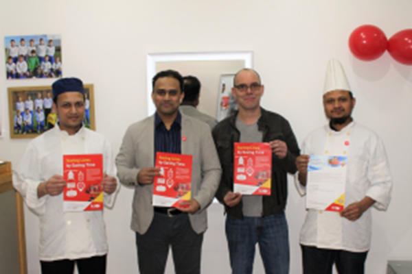 Local Takeaway Serves Up Support