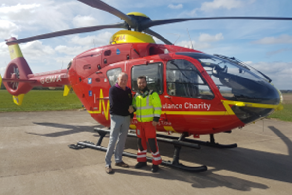 Golf Club Captain Exceeds Fundraising Expectations