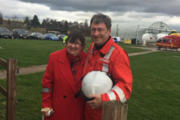 Alan Titchmarsh Surprises Charity Volunteer