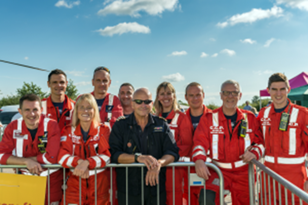 Behind the Scenes with Midlands Air Ambulance Charity