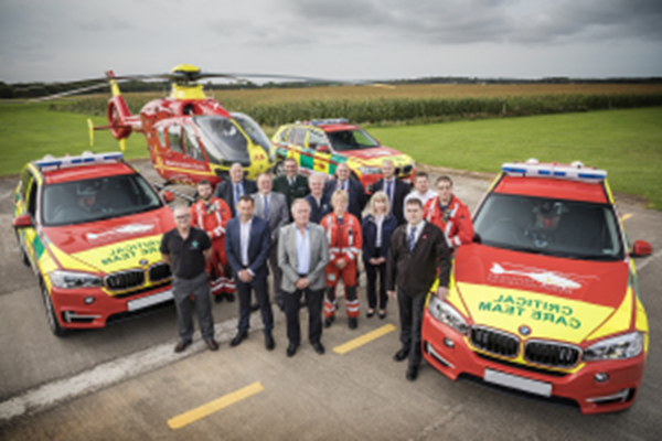 Midlands Air Ambulance Charity Invests In New Rapid Response Vehicles