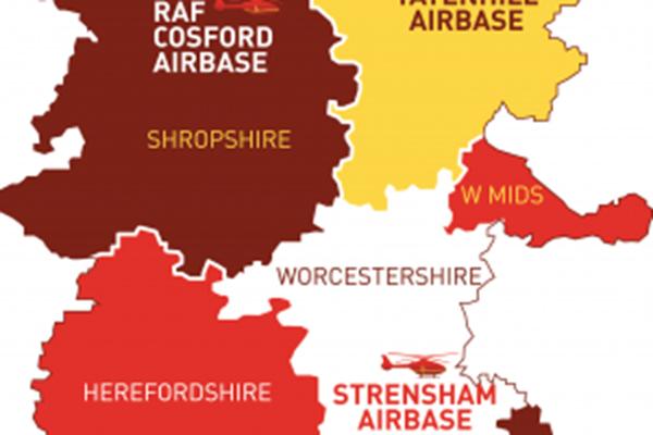 Six regions covered