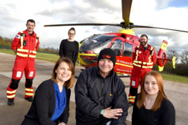 Charity Partnership Takes Off