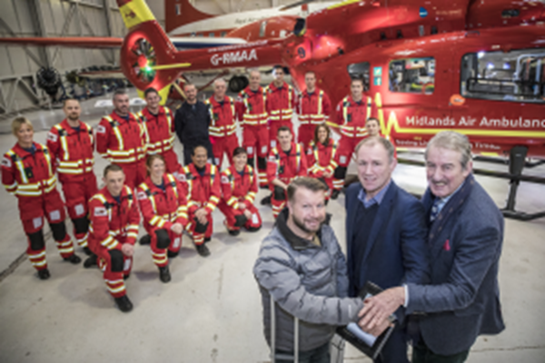 New Air Ambulance Flies Into The Midlands