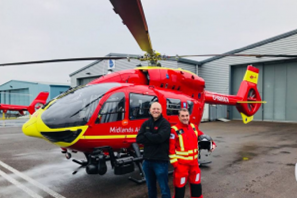 F1 Motor Racing Legend and England Rugby World Cup Winner Fly To The Rescue