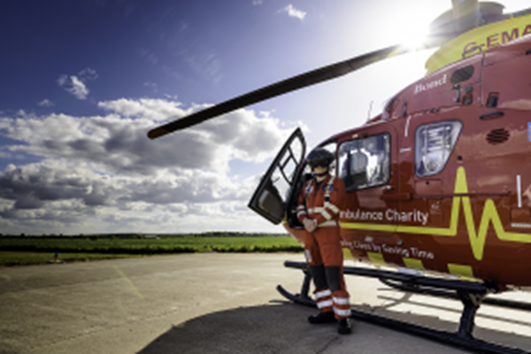 Midlands Air Ambulance Charity Shares Best Practice