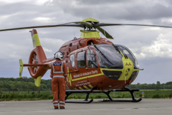 Midlands Air Ambulance Charity Recognised For Investing In Local People
