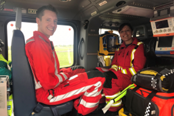 Air Ambulance Expertise Showcased on TV