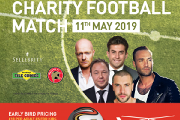 Celebrities On The Ball For Charity Match Of The Year