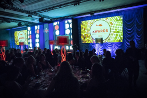Recognition Awards Are A Glittering Success