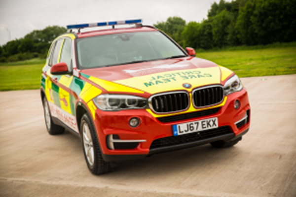 Pre-Hospital Care Car Launches Across Birmingham And Black Country