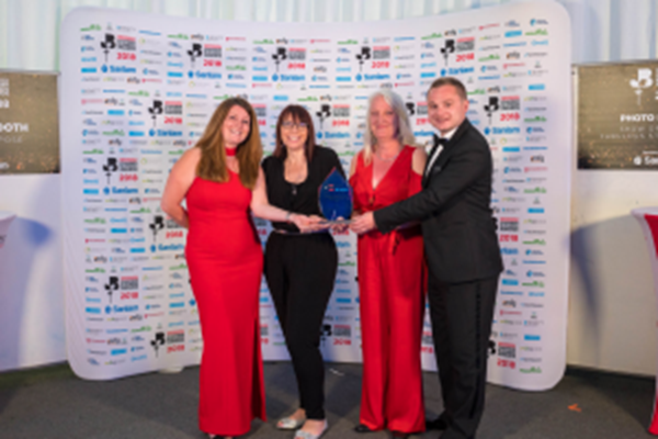Midlands Air Ambulance Charity Scoops Business Award