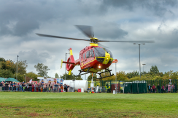 First Open Day At Tatenhill Airbase Will Showcase MAAC's Lifesaving Service