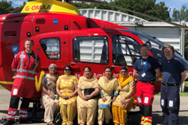 Sikh Community Group Funds Four MAAC Missions