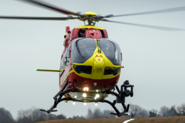 COACH DRIVER AIRLIFTED AFTER THREE-VEHICLE COLLISION