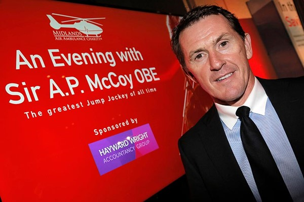 Sir AP McCoy Helps To Raise Over £30,000 For MAAC