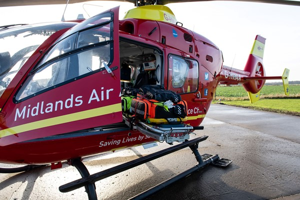 Woman Airlifted To Major Trauma Centre After Crash