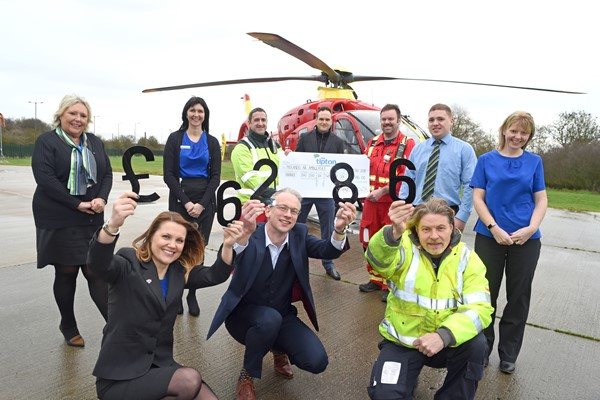 Tipton & Coseley Building Society smashes fundraising target for MAAC