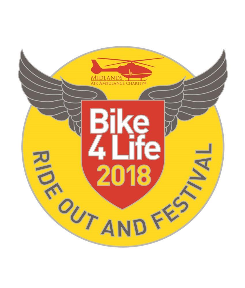 Bike4Life 2018 Badge