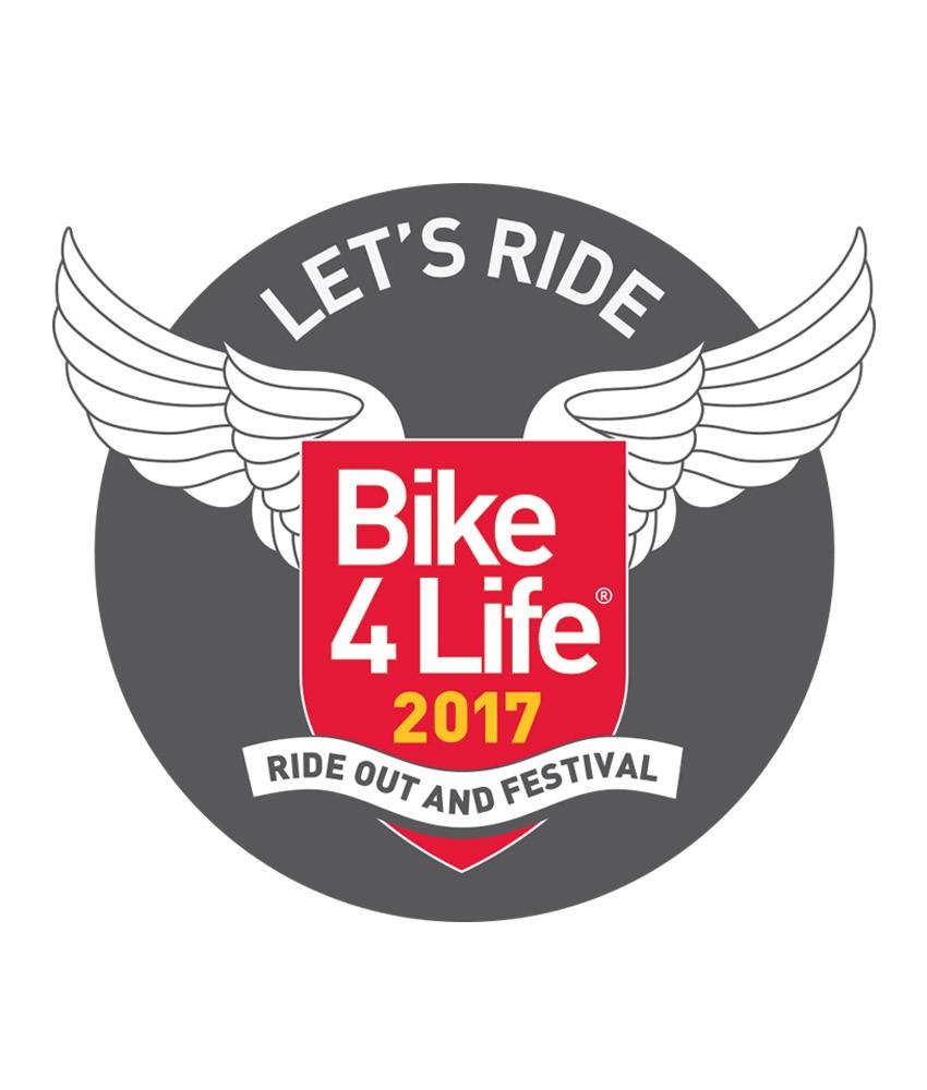Bike4Life 2017 Badge