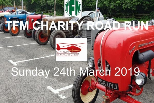 TFM Charity Tractor Road Run