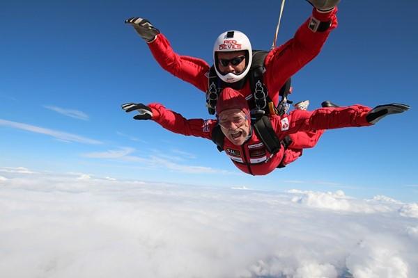Red Devils Skydive 2020