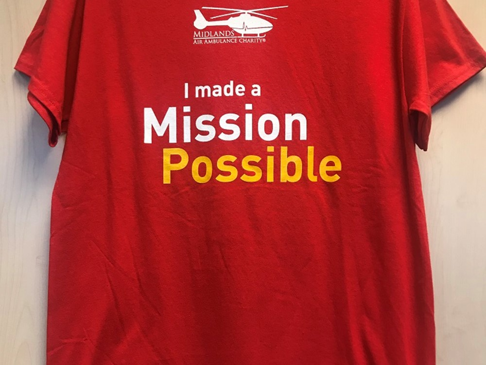 Adults Mission Possible T-Shirt