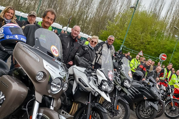 Would You Like To Lead 3,500 Bikers In A Mass Ride Out?