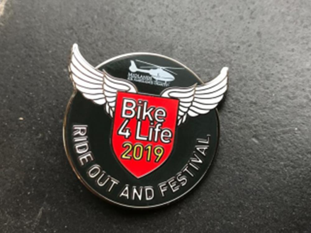 Bike4Life 2019 Badge