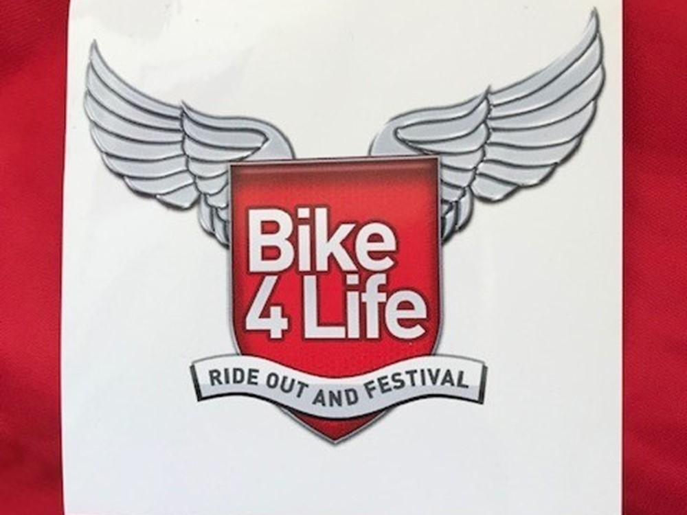 Bike4Life Sticker