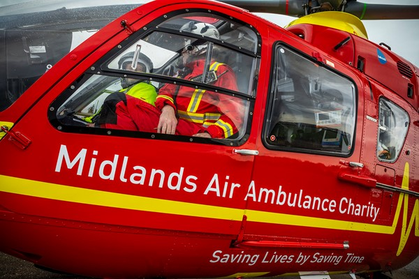 Man airlifted following RTC