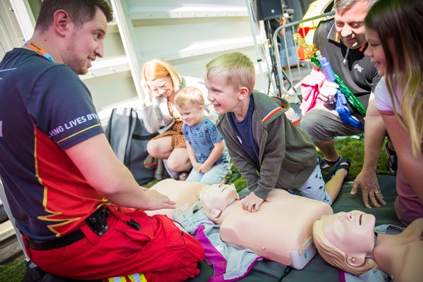 Future Lifesavers Trained At Charity Event