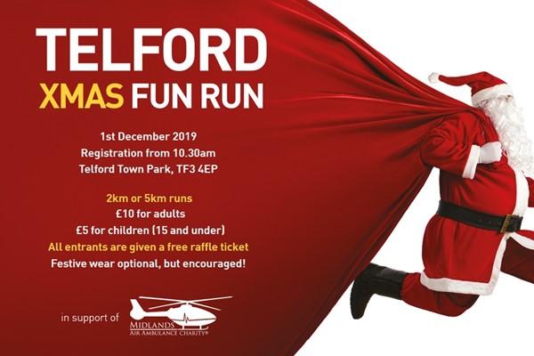 Calling All Santas For Telford Fun Run
