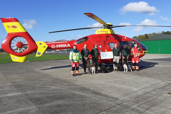 Dog Club Spend Year Raising Funds