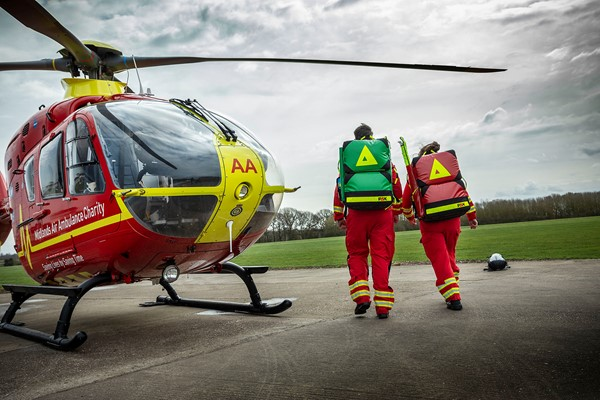 Recycle real Christmas trees to help Midlands Air Ambulance Charity
