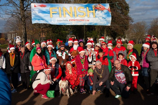 Telford Christmas Fun Run 2020