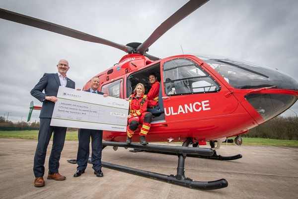 Barratt West Midlands Contributes To Saving More Than 241 Lives With £54K Donation