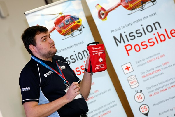 Midlands Businesses Can Save Lives With Bleed Control Training